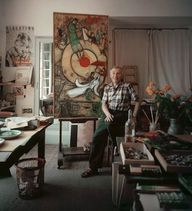Marc Chagall, painte
