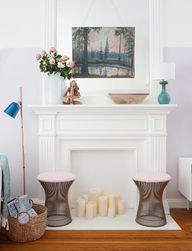 mantel color and set