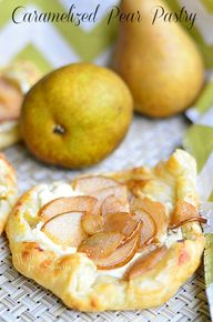 Caramelized Pear Pas