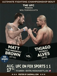 Matt Brown vs. Thiag
