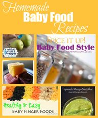 Homemade Baby Food R