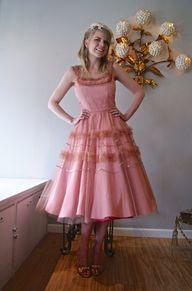 Vintage Prom Dress /