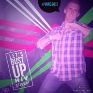 Bust up #HIV stigma.