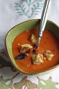 Warm weather soup! E