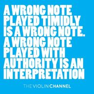 """A wrong note played"