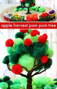 Apple Harvest Pom Po