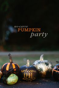No carve Pumpkin Par