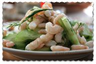 shrimp,cucumber and