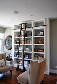 Built in bookshelf,