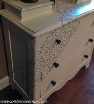 Pine Dresser makeove