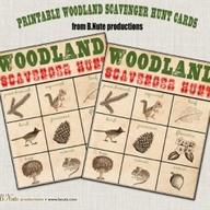 printable woodland s