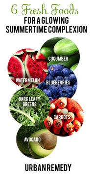 6 FRESH FOODS FOR A