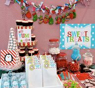 Sweet Treats Table a