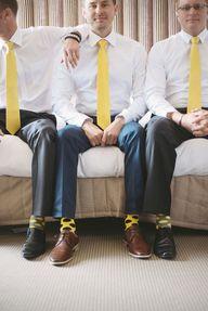 Yellow wedding! // G