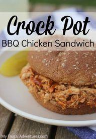 Easy Crock Pot BBQ C