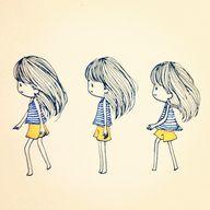 Circle walk #girl #m