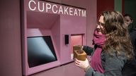 Cupcake ATM Pops Out