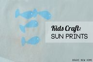 Creating Sun Prints
