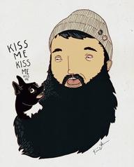 beard illustration...