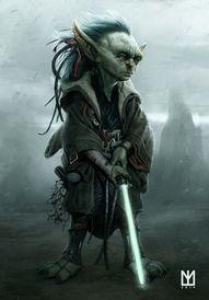 Young warrior Yoda #