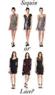 Sequin or Lace?