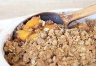 Pueblo Peach Crisp (