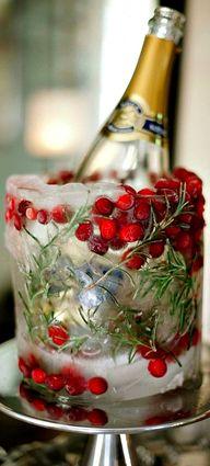 Christmas ice bucket...