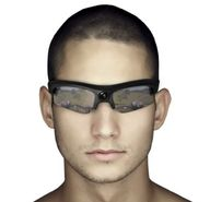 HD video glasses