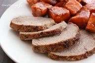 Savory pork roast an