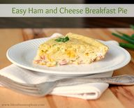 Easy Ham and Cheese