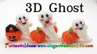 Rainbow Loom 3D Ghos