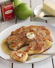 Apple Crumble Pancak