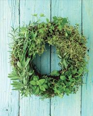 Living Herb Wreath -