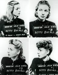 Lauren Bacall hair t