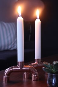 DIY candle holder -...