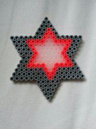 Hama bead star by Th