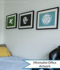 DIY Minimalist Artwo...