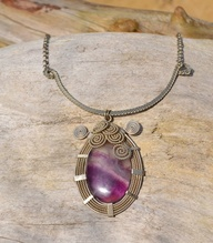 Fluorite Necklace by...