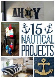 DIY Nautical Decor R