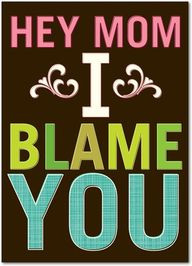 I Blame You - Mother