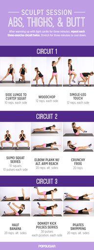 Printable Workout: S