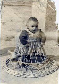 1950s: Baby called J