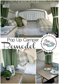 Pop Up Camper Remode