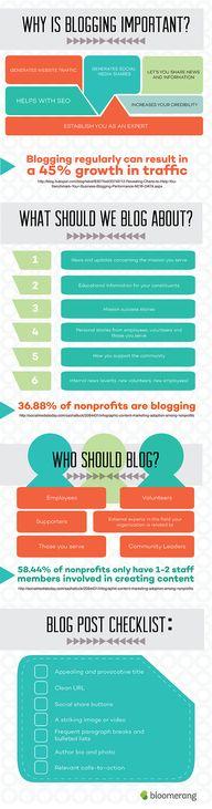 Why Non-profit Blogg