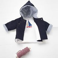 lovely hooded baby j