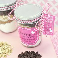 Cookie Mix Mason Jar