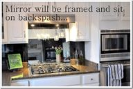 Mirror backsplash id