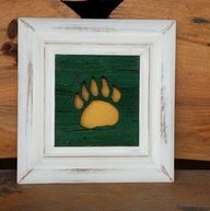 Framed #Baylor bear
