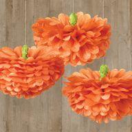 pumpkin tissue pom p