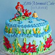 A Mermaid Birthday C